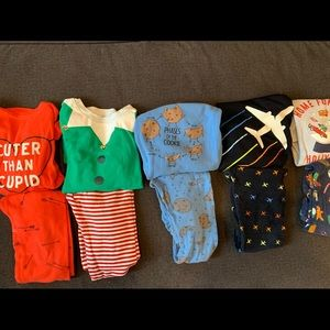 Other - (5) Long Sleeve PJ's (5T)